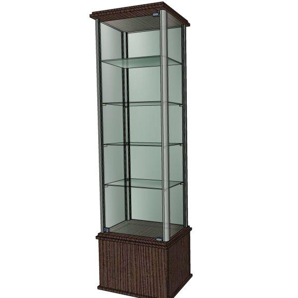 Эскиз витрины с подсветкой