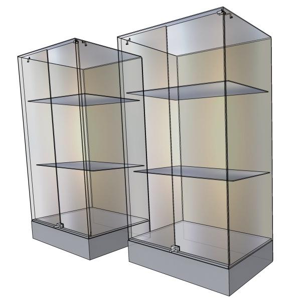 Эскиз двух витрин 1200х600мм