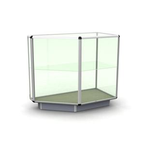 Угловая секция стеклянная